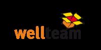 Logo wellteam, bei PODUFAL - WIEHOFSKY, Architekten und Generalplanung