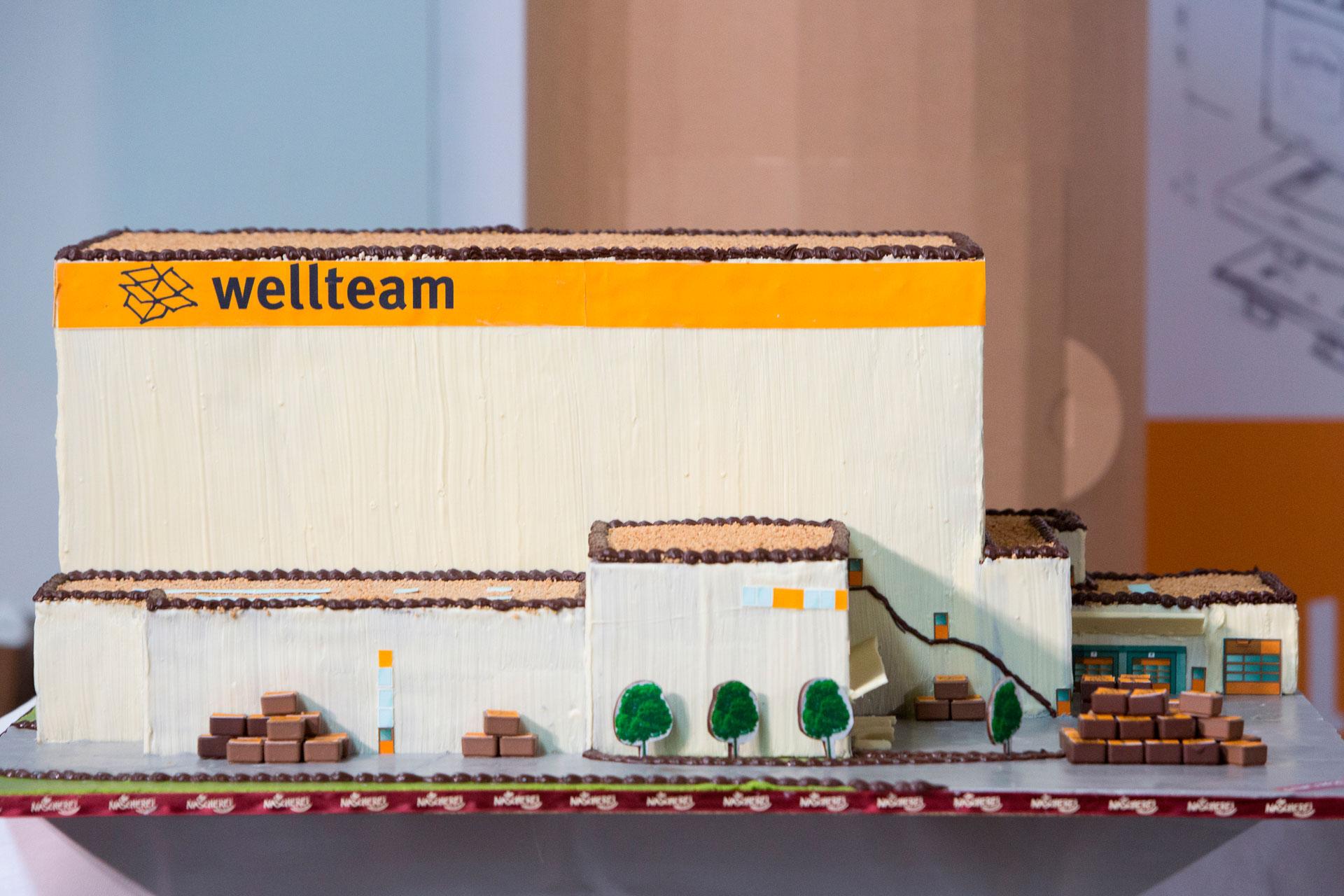 PODUFAL - WIEHOFSKY Generalplanung , Architekten, Ingenieure, ein Hochregallager aus Schokolade