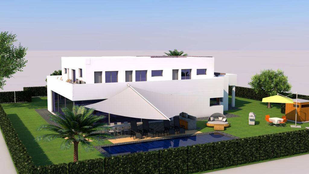 PODUFAL - WIEHOFSKY Generalplanung, Architektin und beratender Ingenieur, PartmbB. Traumhaus gezeichnet von einem Schülerpraktikanten